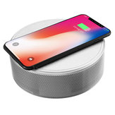 JY-29C Qi Wireless Charger bluetooth Wireless NFC Speaker Music Player with Alarm Clock