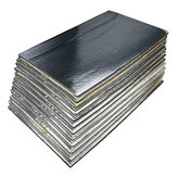 12Pcs 30cmx50cm 5mm Car Van Soundproof Deadening Mat Insulation Closed Cell Foam Sheet
