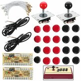 Joystick Push Button Zero Delay Arcade Game Kit de bricolage pour MAME