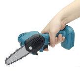 550W 24V 4 `` Mini sierra de cadena eléctrica inalámbrica de una mano cortador de madera para carpintería para Makita 24V Batería