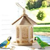 餌箱用木製鳥小屋フィーダーフレーム鳥かごネット