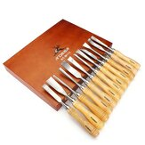 12pcs Carving Chisels Kit Wood Working Wood Carving Chisel Set