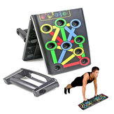 14 In 1 Foldable Push Up Stand Board Home Gym Push-up Chest Muscle Training Fitness Equipment
