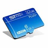 STMAGIC 32GB 64GB UHS-I U3 Carte TF haute vitesse de classe 10 Carte mémoire de stockage de données pour smartphone, haut-parleur de tablette
