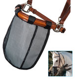 Mesh Horse Nose Mask Breathable Detachable Fly Mask Mosquito Proof Horse Face Cover Equestrian Supplies