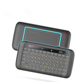 H20 Mini Colorful Backlight Air Mouse with Touch Pad Panel Mini Wireless Keyboard