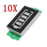 10pcs 3S Lithium Battery Pack Power Indicator Board Electric Vehicle Battery Power Indicator 12V Power Storage
