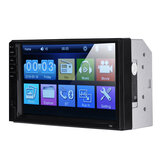 7034 7 Inch 2DIN Car Stereo MP5 Multimedia Player bluetooth Touch Screen FM Aux With Camera