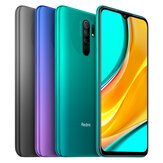 Xiaomi Redmi 9 Global Version 6.53 inch Quad Rear Camera 4GB RAM 64GB ROM 5020mAh Helio G80 Octa core 4G Smartphone