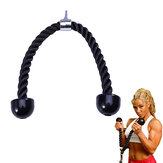 Tricep Rope 70cm Abdominal Pull Down Muscle Training Pull Rope Sport Fitness Exercise Tools