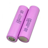 2PCS INR18650-30Q 3000mah 20Aフラットトップ保護電源18650 Li-ion battery for Samsung