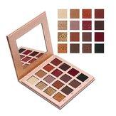 IMAGIC 16 kolorów Matte Shimmer Eyeshadow Palette