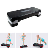 3 Levels Aerobic Step Board Adjustable Bench Stepper Exercise Bench Fitness Sport Home Outdoor