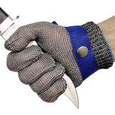Luvas Resistentes à Prova de Corte Aço Inoxidável Fio Luvas de Malha para Carpintaria Açougueiro Alfaiate Luvas de Operação Anti Corte