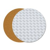 200*3mm Round Heated Bed Heating Pad Insulation Cotton With Cork Glue For 3D Printer Reprap Ultimaker Makerbot