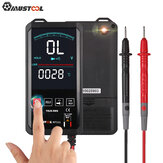 Mustool MT111 Touch Screen Digital Multimeter 6000 Counts Intelligent Scanning Digital Multimeter AC DC Measurement NCV True RMS Measurement