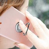 Baseus Cat Ear Portable Metalen Ring Beugel Finger Ring Houder Telefoon Stand voor iPhone Samsung Xiaomi