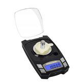 NEWACALOX 100g / 50gx0.001g Цифровой Электронный Шкала Мини USB Зарядка Взвешивание Шкала 0.001g Precision Jewelry Lab Взвешивание Шкала