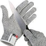 Anti-snijhandschoenen Veiligheid Cut Proof Steekwerende roestvrij staaldraad Metalen gaas Keuken Slager Snijbestendige veiligheidshandschoenen