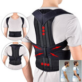 1 Pcs 102cm Adjustable Back Support Belt Back Posture Corrector Shoulder Lumbar Spine Support Back Protector Size L