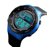SKMEI 1465 50M Waterproof Countdown Outdoor EL Light Sports Men Digital Watch