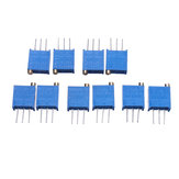 10pcs 3296W 100K ohm Trimpot Trimmer Potentiometer