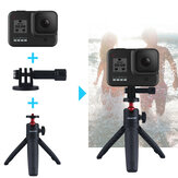 LEDISTAR DX-06 Portable Hanheld Selfie Telescopic Stick Tripod Bracket for GoPro Cameras