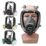 Safety Gas Mask Painting Spraying Full Face Multiple Combinations Protection Breathable Face Mask