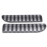 2Pcs Car Stainless Steel Rear Tailgate Boot inserts Cargo Trunk Scuff Plates For Range Rover Sport L494 14-18