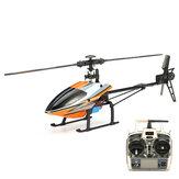 WLtoys V950 2,4G 6CH 3D6G Sistema Brushless Flybarless RC Helicóptero RTF