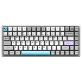 Original              AKKO 3084 Silent 84 Keys Mechanical Keyboard Wireless bluetooth 5.0 / USB Type-C Wired Dual Mode Morandi Grey Gateron Switch PBT Keycap Gaming Keyboard