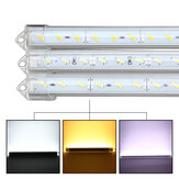 50cm 9W 1800lm 36 SMD 7020 Vattentät IP44 LED Rigid Strip Cabinet Light DC 12V