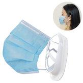 BIKIGHT 5 pièces masque support intérieur cadre 3D support plus d'espace pour respirer lavable bouche masque support masque facial support