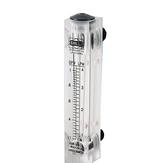 Sıvı Debimetre Kontrol Vanası Olmadan Su Akış Ölçer Paneli Rotametre LZM-15 0.2-2LPM 16-160LPH 1-7LPM 10-100LPH 25-250