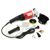 Raitool 220V 1400W Wet Electric Polisher Buffer Machine Disc Polishing Machine Stone Grinding