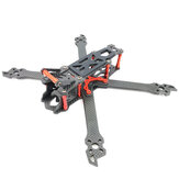 Kit AlfaRC Fighter 230mm 260mm 290mm 5/6/7 pouces en fibre de carbone FPV Freestyle Stretch X Frame pour drone RC