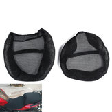 Motoffiets Zwart Front & Rear Seat Net Covers Pad Guard Ademend Voof BMW R1200GS ADV 2006-2012 / 2013-2018