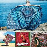 Honana WX-99 New 150x210cm Bohemian Style Polyester Fiber Strenmat Tapestry Menala Rechthoek Laken