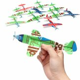 10 Stk Banggood Flying Plane Toy Gift Födelsedag Christmas Party Bag Filler