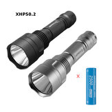 Astrolux® C8 XHP50.2 3500LM 6500K 7/4modes Strong Floodlight Tactical LED Flashlight + 1Pc 30Q 3000mAh Power 18650 Battery A6 Driver Powerful 18650 Mini Torch