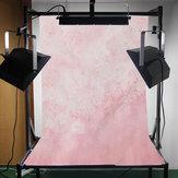 3x5ft Fondo de vinilo de tela Fuzzy Flores Bebé Fotografía Fotografía Studio Props