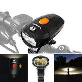LumintopC01400LMXPG3avecblanc neutre LED Allemand Standard anti-éblouissement intégré 1400mAh Li-polymère Batterie Rechargeable Versatile vélo léger avant