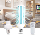 E27 AC85-265V 60W UV Germicidal Lamp Disinfection LED Bulb Ozone Disinfection Light with Socket Remote Control