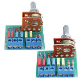 Finished 16 Type 8-pin Blue Terminal Screw Passive Potentiometer PCB Board