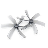 HQProp Duct-75MMX6 75mm 3 Pitch 6 Blades Grey Propeller for FPV Racing Drone Cinewhoop  (2CW+2CCW)-Poly Carbonate
