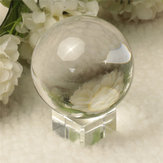 Quarz Reine Clear Magic Kristallglas Healing Ball Speculum Slickball Kugel 60mm mit Standfuß