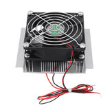 XD-35 12V Small Electronic Refrigerator Semiconductor Refrigeration System Component Kit