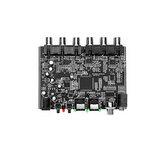 Módulo decodificador de áudio digital óptico / coaxial para analógico DTS de 5.1 canais Dolby AC-3 PCM