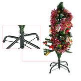 Decoração artificial da casa do feriado do suporte da base do suporte do verde do suporte da árvore de Natal de 4ft