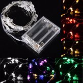 2M 20 LED Rabbit Head Battery Operated Xmas String Fairy Lights Party Wedding Christmas Decor